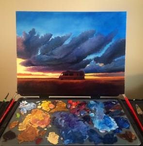 Desert clouds_WIP