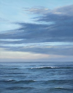"""Ebb & Flow, 14"""" x 11"""", oil on panel 