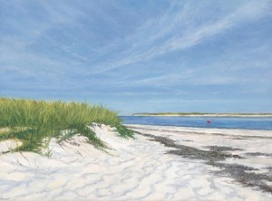 """The Cape, 6"""" x 8"""", oil on panel 