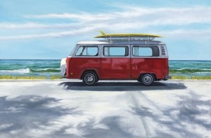 """Endless Summer, 24"""" x 36"""", oil on canvas 
